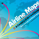 """Cover of book """"Airline Maps"""""""