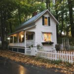 two-story tiny house on airbnb in new hampshire